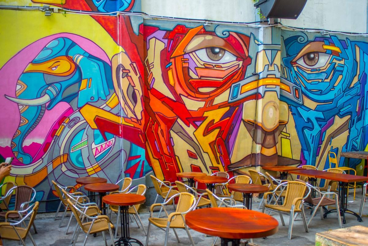 Street Art Singapour Singapore asie blog voyage icietlabas