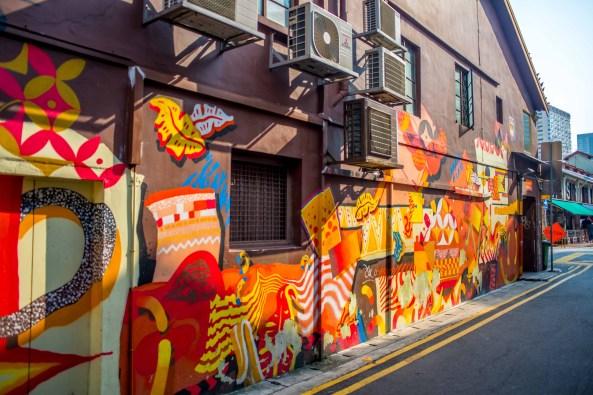 Tadrart RouStreet Art Singapour Singapore asie blog voyage icietlabas