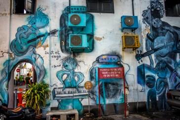 StreetArt Georgetown Penang Malaisie Asie blog voyage