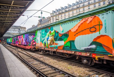Train de Noé Street Art Paris Blog Voyage Icietlabas
