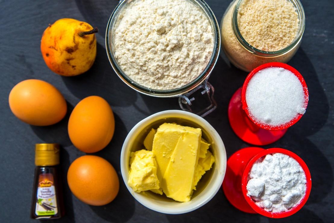 Ingrédients tarte bourdaloue