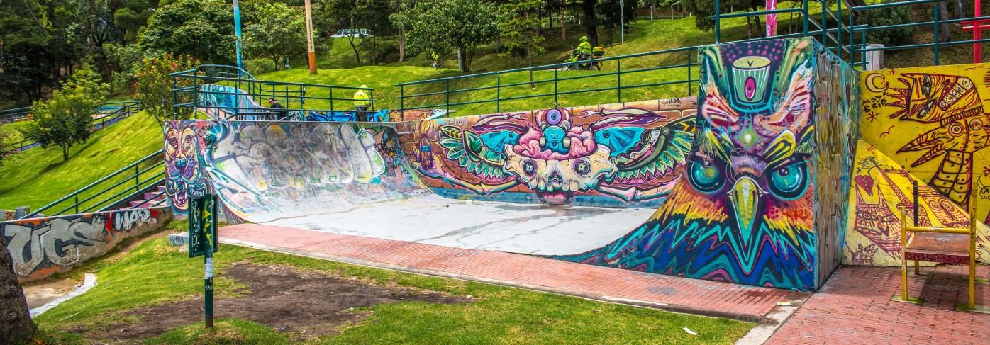 Street Art à Bogota Colombie Blog Voyage Icietlabas