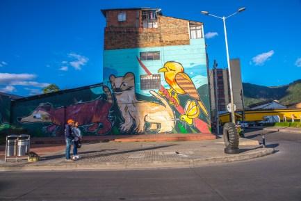 Street Art à Bogota Colombie Blog Voyage Icietlabas-70