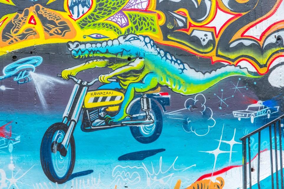 Comuna 13 Street Art Medellin Colombie Blog de Voyage Blog Voyage Trois semaines en Colombie-16