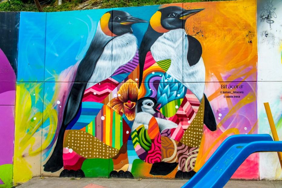 Comuna 13 Street Art Medellin Colombie Blog de Voyage Blog Voyage Trois semaines en Colombie-79