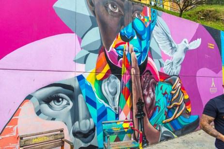 Comuna 13 Street Art Medellin Colombie Blog de Voyage Blog Voyage Trois semaines en Colombie-80