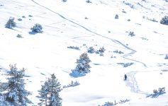 Gréolières randonnée raquette proche de cannes Provence blog voyage