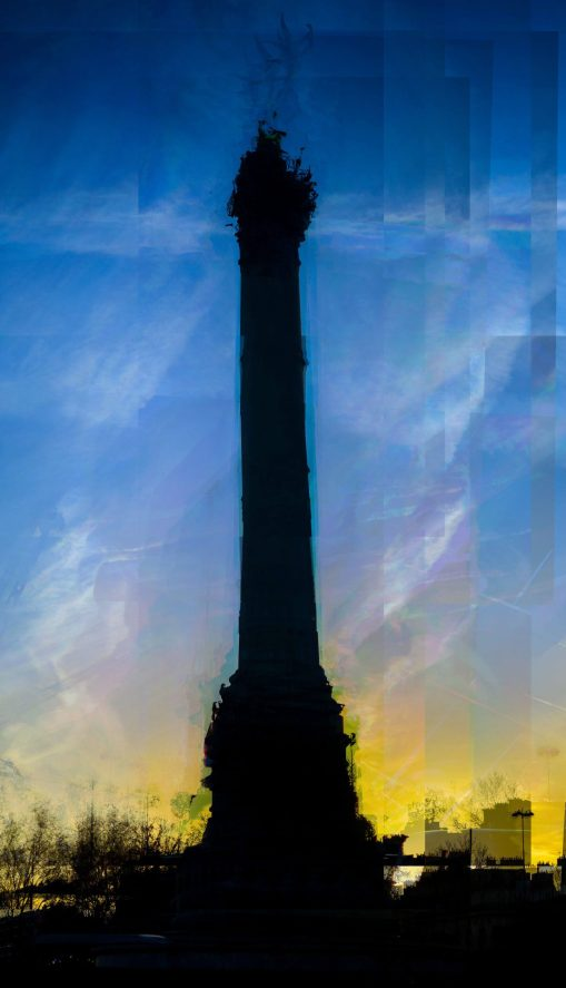 Digital Waste Impressionisme Lion parc des félins Impressionisme Blog Voyage