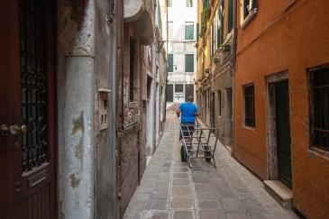 Les hommes chevaux à Venise Itallie Blog Voyage