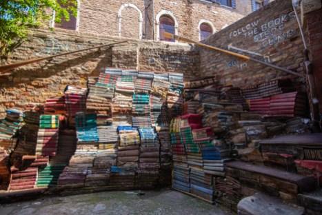 Venise un long weekend Vénétie Italie Blog Voyage Libreria Acqua alta