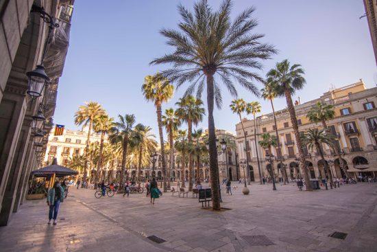 Les places à Barcelone, blog de voyage espagne