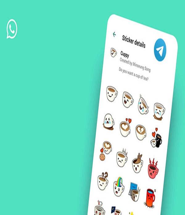 aplikasi pembuat stiker Telegram untuk WhatsApp