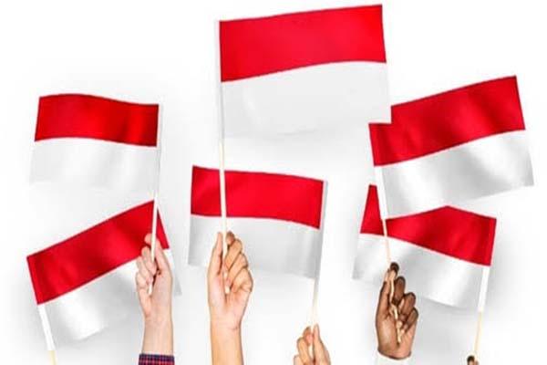 Twibbon kibarkan bendera merah putih 2021