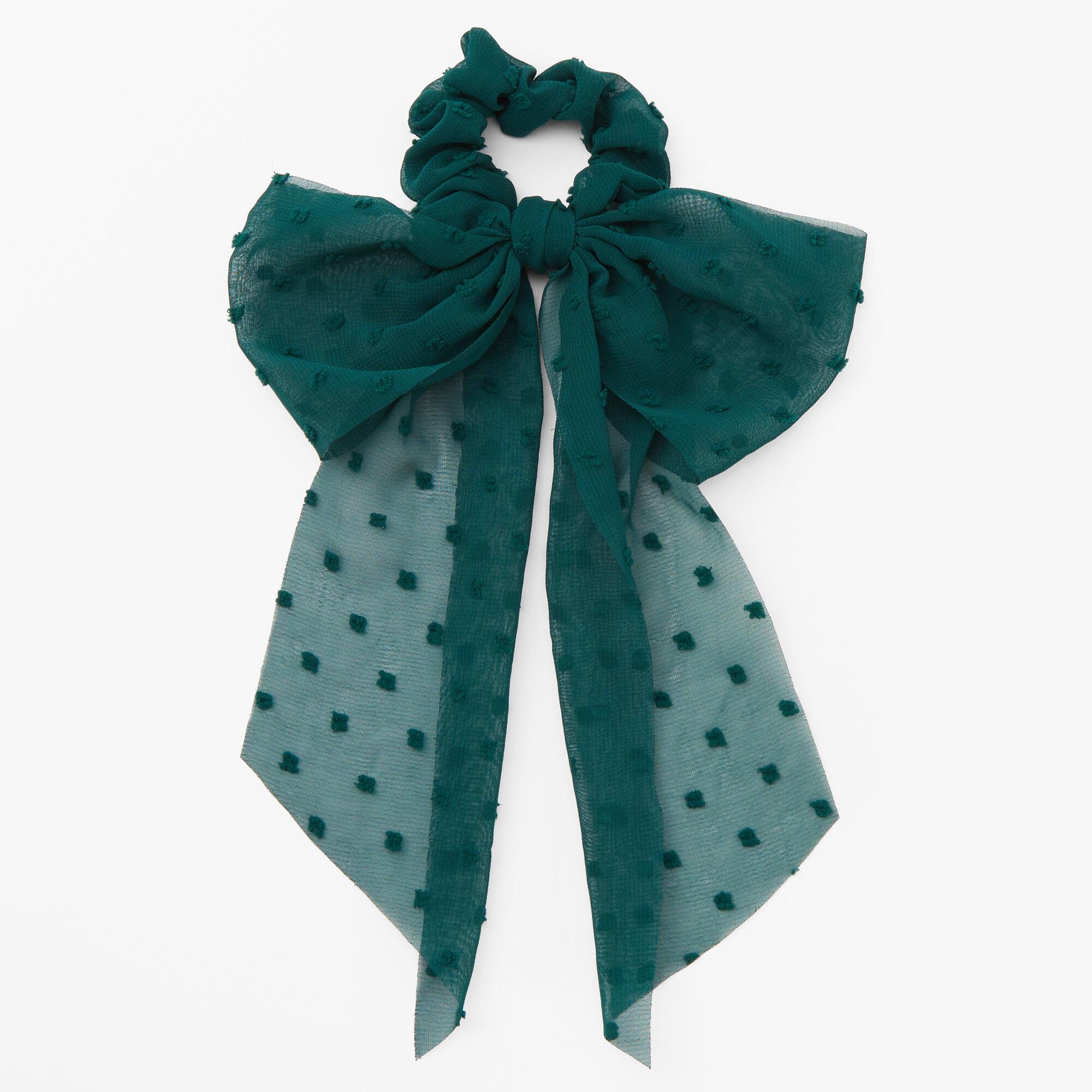 christmas glitter hair bow icing
