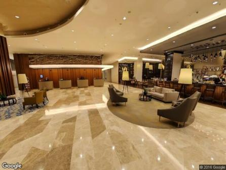 Marriott Hotel Sisli Lobby