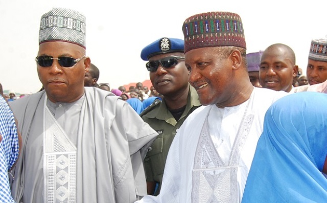 Aliko Dangote on recent visit to Maiduguri