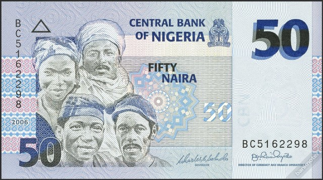 The Woman On The Fifty Naira Note