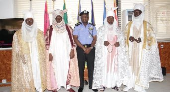 IGP Woos Royal Fathers