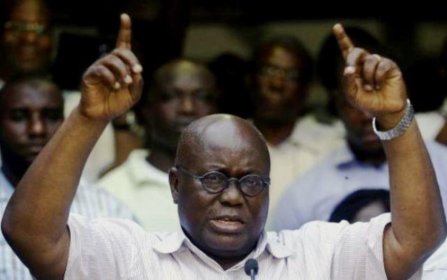 Ghana's President Elect, Nana Akufo-Addo