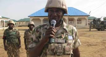 Counter-Insurgency: GOC Attributes Success To Troops' Courage