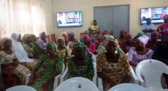 DSS Hands Over Chibok Girls To FG