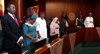 Buhari presides over FEC meeting — the first time in 20 weeks
