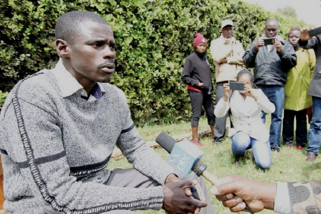 He's 23, 'broke', jobless, an orphan — meet Mwirigi, Kenya's youngest MP