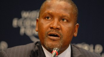 Dangote: Stop linking me with 2019 presidential election, I am NOT interested