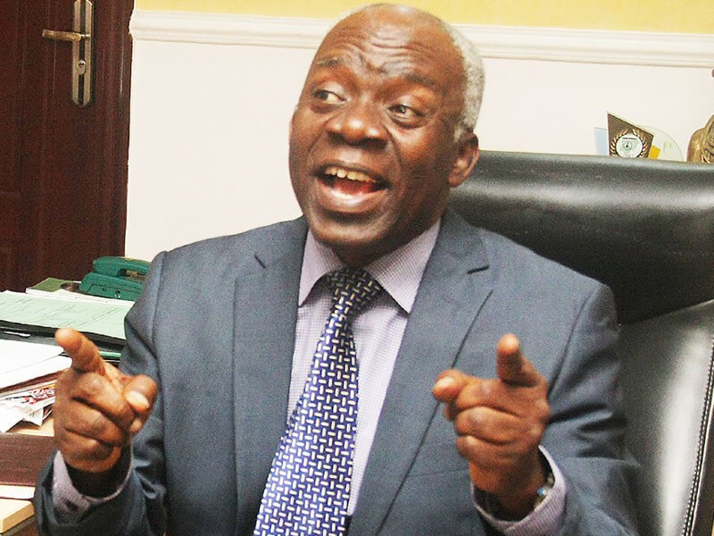 Falana: Buhari was flown to the UK because his life was in danger here