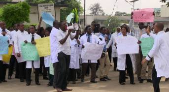 Health workers declare strike action 'worse than Operation Python Dance'
