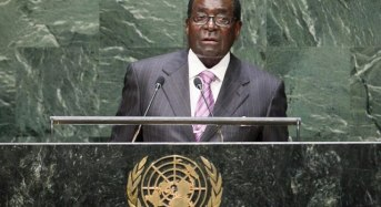 VIDEO: For threatening nations with extinction, Mugabe calls Trump 'Biblical Goliath'