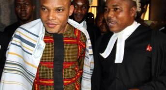 Nnamdi Kanu challenges IPOB's proscription in court