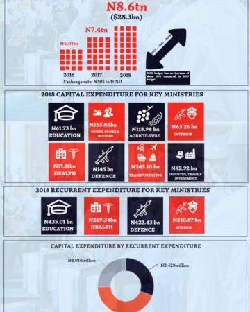 2018 Budget infographics