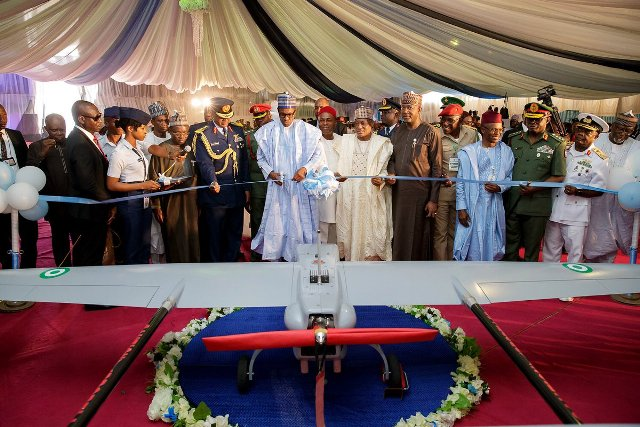 FACT CHECK: Jonathan or Buhari, who launched the first made-in-Nigeria drone?