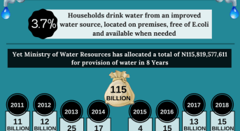 World Water Day: The data behind Nigeria's woeful drinking water situation