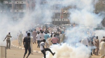 VIDEO: One 'killed' as Shiites confront police in Abuja