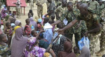 Army rescues 1000 BH captives, as Salkida claims group still control territories in Borno