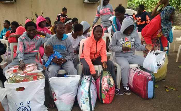 Nigeria Libya returnees