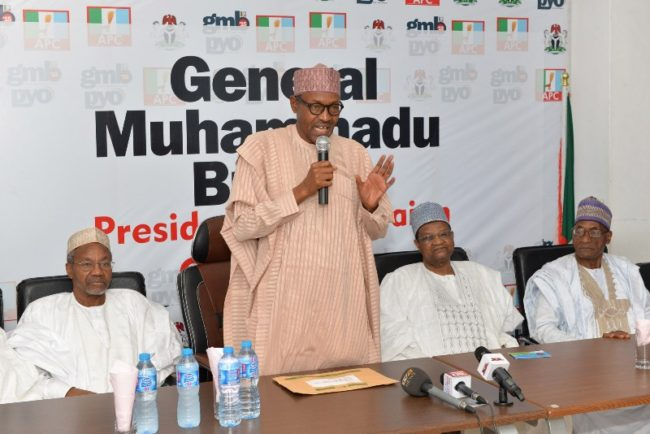 Before you is a converted democrat: Buhari's last minute campaign plea in 2015