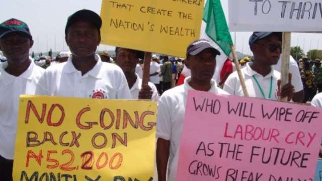Minimum wage: TUC declares strike over FG's foot-dragging