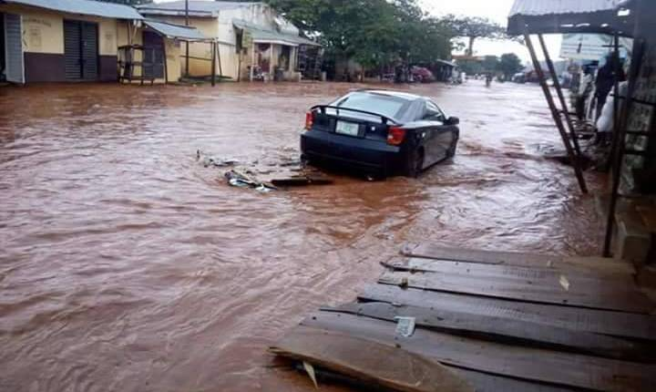 Flooding gets worse across Nigeria, claiming lives and properties. File photo.