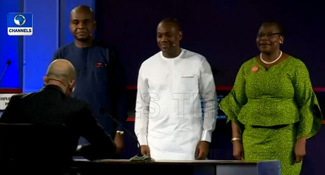 2019 Election: Moghalu, Ezekwesili, Durotoye debate, as Atiku, Buhari chicken out