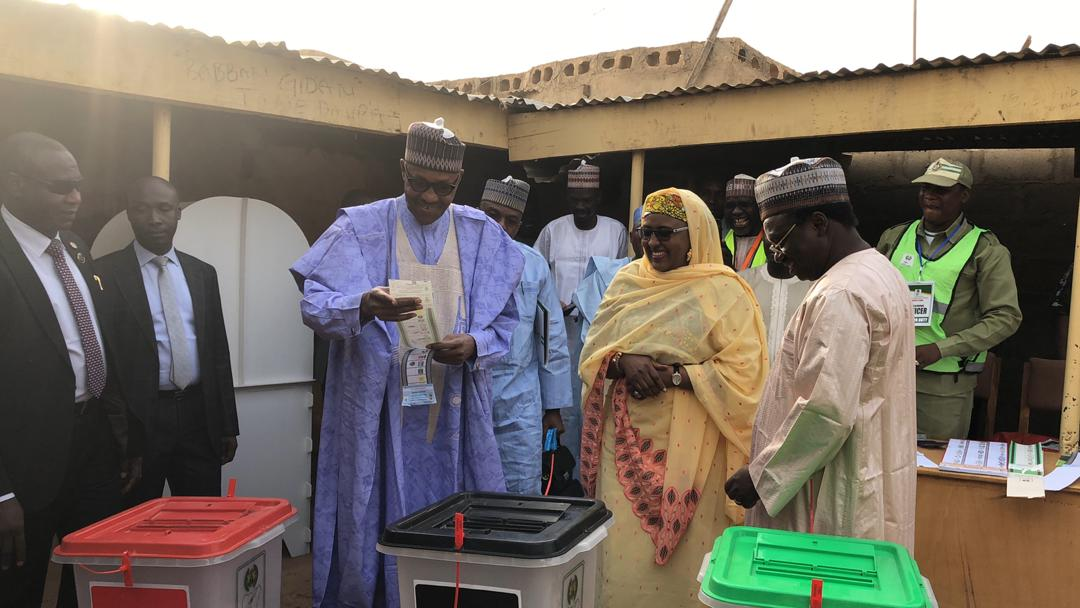 Buhari, Atiku satisfied after voting, Obi, Sowore say process is slow