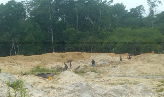 Illegal mining - Eastern