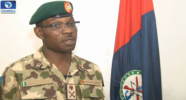 Lamidi Adeosun has been promoted to the rank of Lieutenant general, same rank with Buratai, the Chief of Army Staff. Photo credit: Google/ChannelsTV.