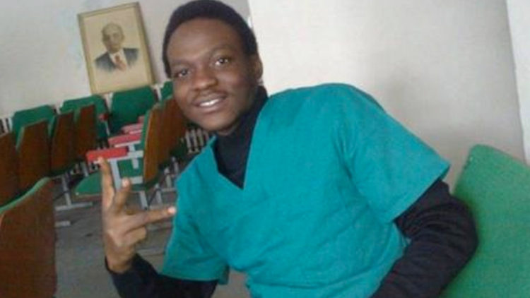 Gbolade Ibukun was a final year medical student at a Ukraine University before his death. Photo credit: The Guardian.