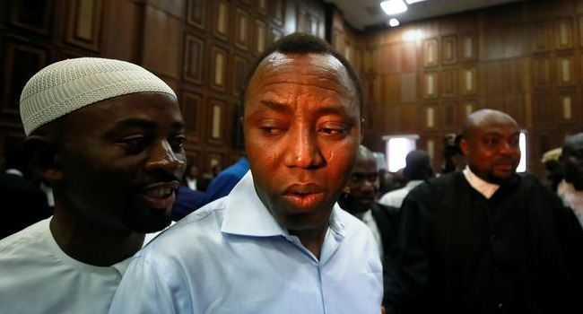 Sowore in DSS Custody