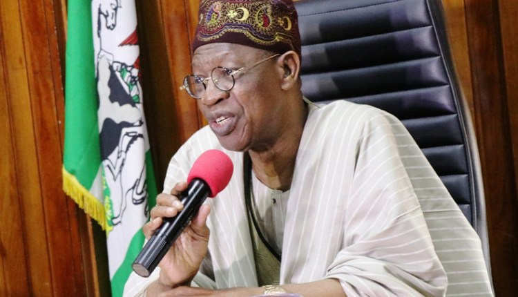Image result for Lai Mohammed sets up seven-man committee to reform Broadcasting