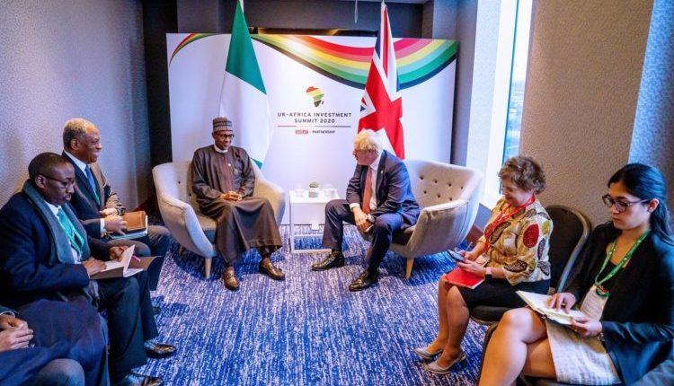 Buhari UK-Africa summit