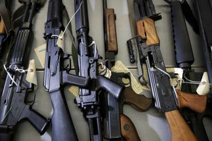 Firearms Nigeria armed groups